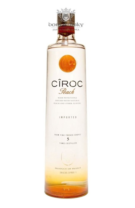 Wódka Ciroc Peach / 35% / 1,0l