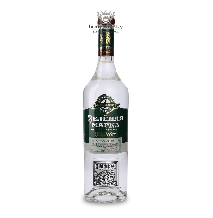 Wódka Green Mark Cedar Nut (Rosja) / 40% / 0,5l