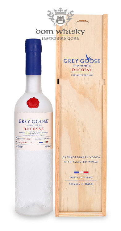 Wódka Grey Goose Ducasse Exclusive Edition / 40% / 0,7l