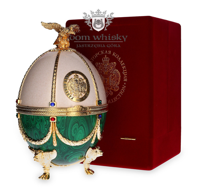 Wódka Imperial Collection Fabergé White-Green / 40% / 0,7l