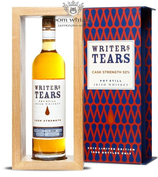 Writer's Tears Cask Strength 2012 Limited Edition / 52% / 0,7l