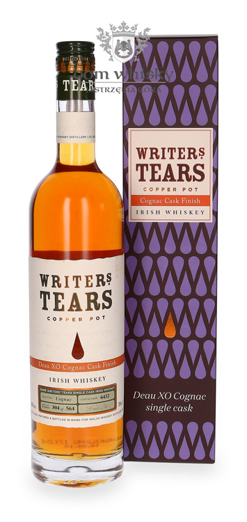 Writer's Tears Copper Pot Deau XO Cognac Cask Finish / 46%/ 0,7l