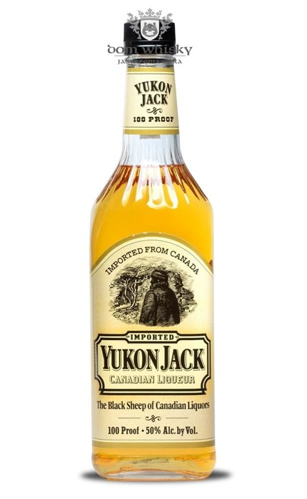 Yukon Jack The Black Sheep of Canadian Liqueur / 50% / 0,75l