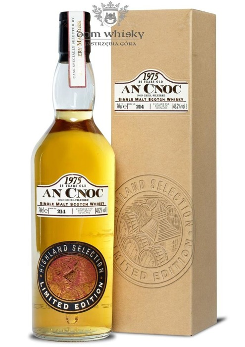 anCnoc 1975, 26-letni, Highland Selection / 48,2% / 0,7l